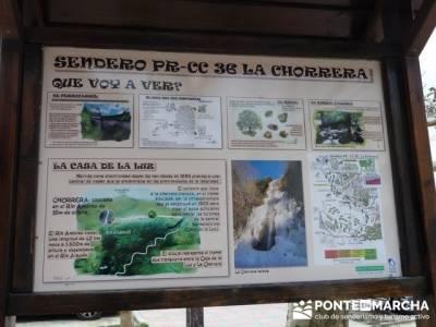 El Valle del Ambroz y la Judería de Hervás - Hervás  PR-CC 36 La Chorrera;rutas de senderismo esp